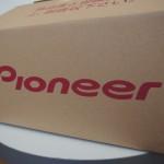 パイオニア製ぺダリングモニターの箱が届きました! ご注文を頂いた時は、このような手順で進みます