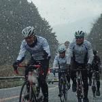 2013年度 締めくくりの走行会は雪景色だった・・・