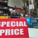 SPECIAL PRICE SALE ~ 商品入れ替えの為、旧製品をプライスダウン中です!